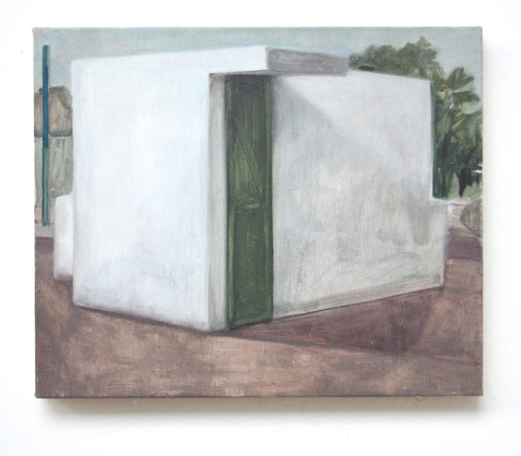 Miqlat, 2017, 28 x 42 cm, huile sur toile