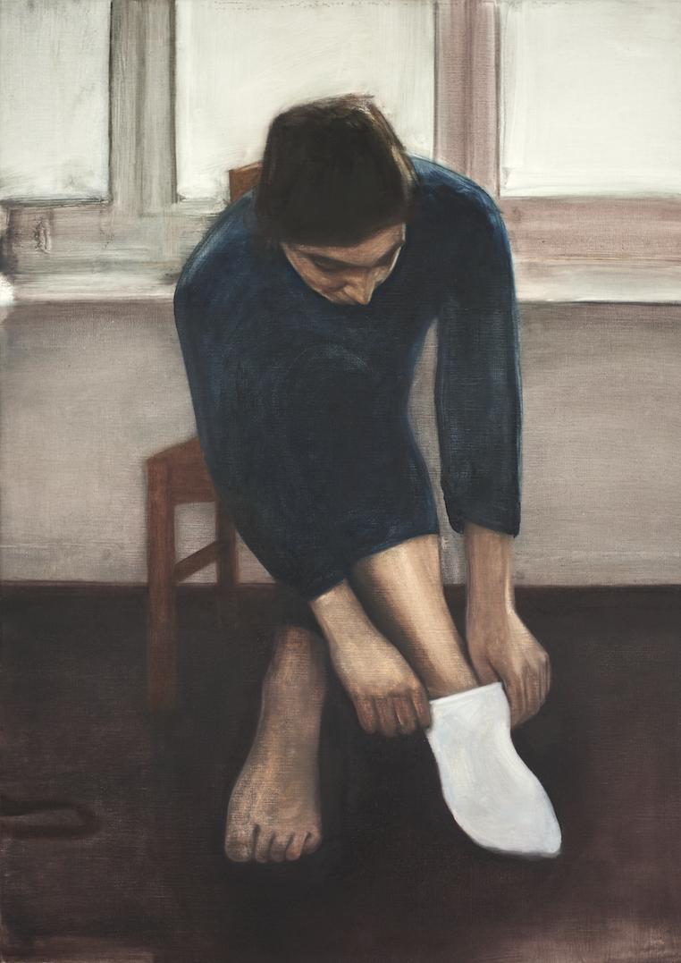 Eléné, 2016, 134 x 85 cm, huile sur toile