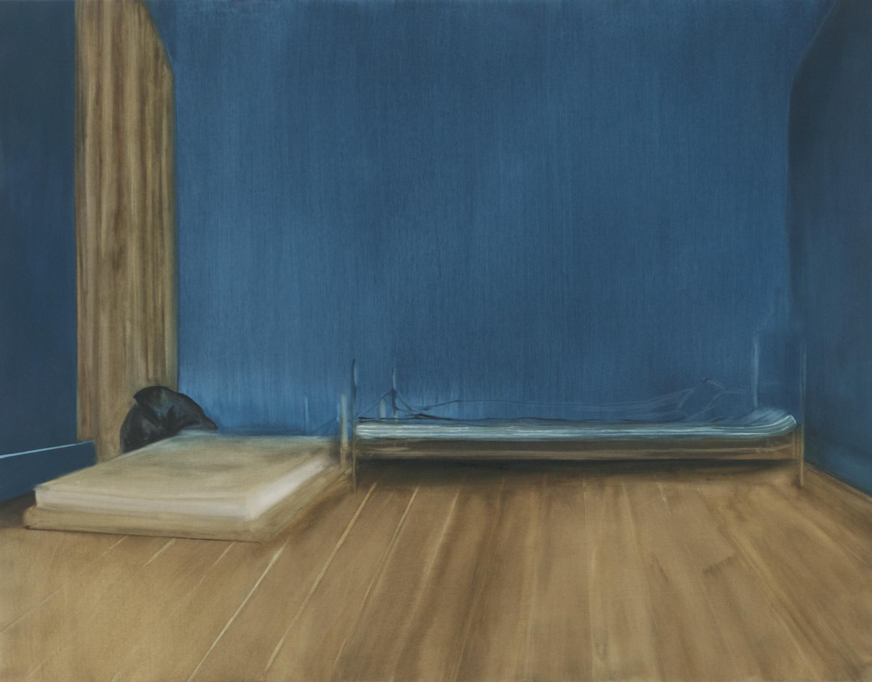 Garance, 2014, 114 x 146 cm, huile sur toile