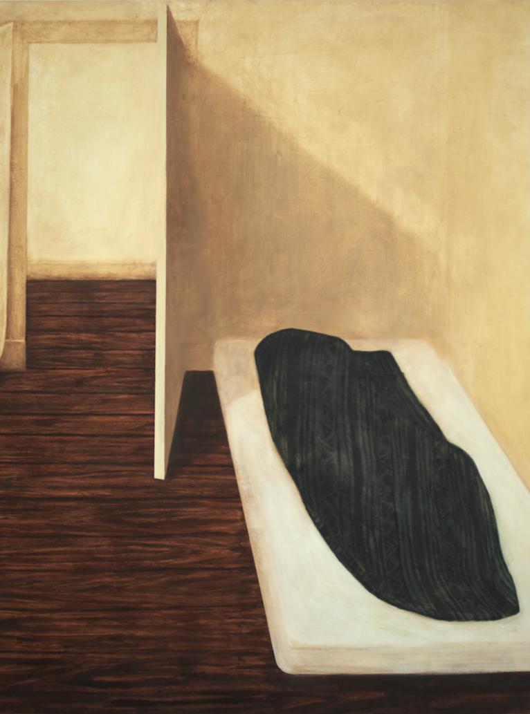 Sans titre, 2016, 130 x 97 cm, huile sure toile