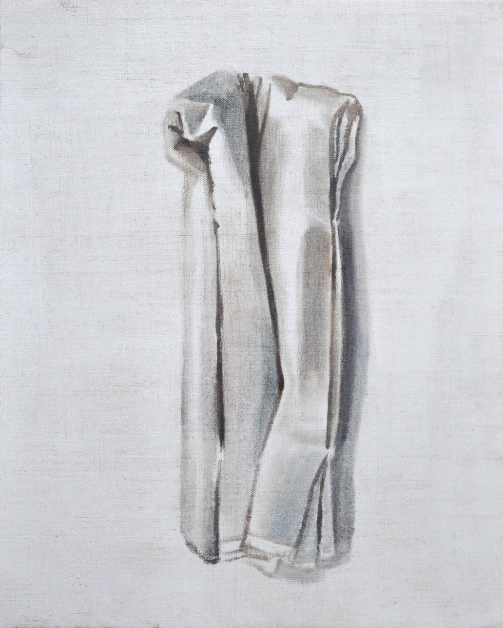 A Jean Luc Vilmouth, 2015, 30 x 50 cm, oil on canvas