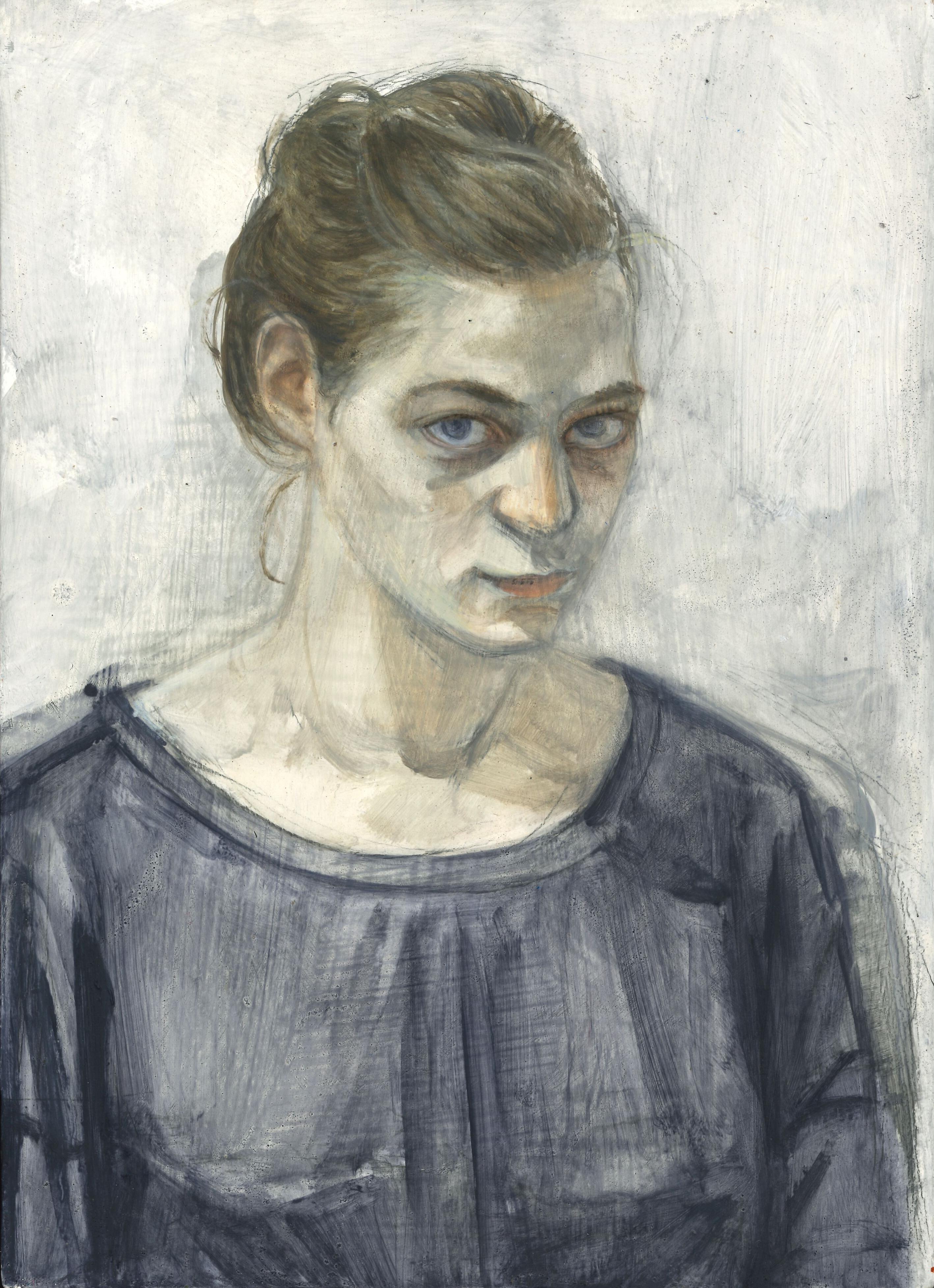 Roxanne, 2018, 32 x 40 cm, oil on wood