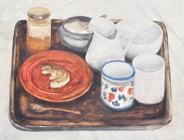 Boker, 2018, x cm, oil on wood